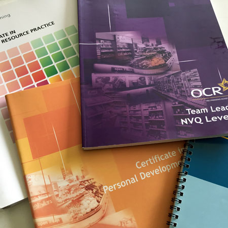 Training books